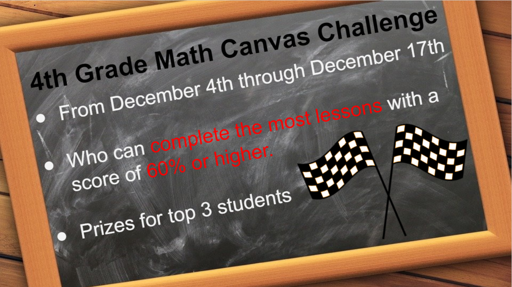 Canvas Math challenge
