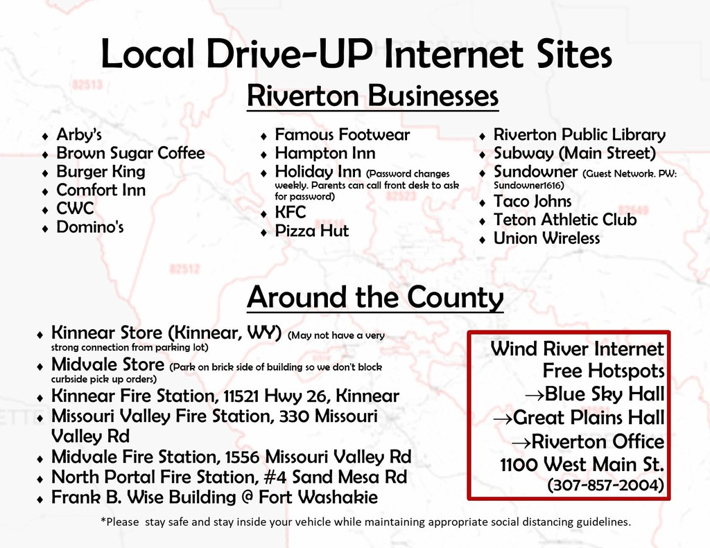 Local Internet Hot Spots